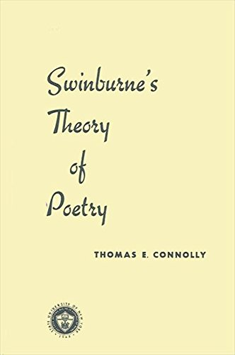 9780873950138: Swinburne's Theory of Poetry