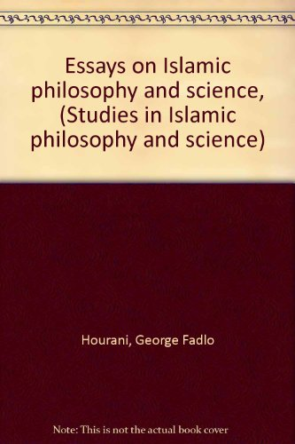 9780873952255: Essays on Islamic philosophy and science, (Studies in Islamic philosophy and science)