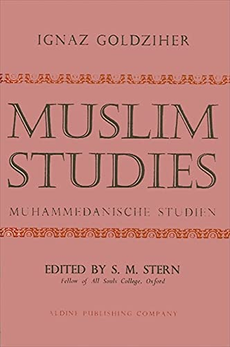 9780873952347: Muslim Studies Vol 1 CB