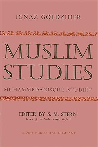 9780873952347: Muslim Studies, Vol. 1 (English and German Edition)