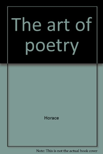 9780873952415: The art of poetry