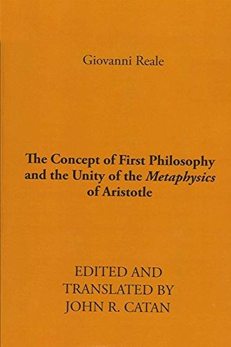 9780873953856: The Concept of First Philosophy and the Unity of the Metaphysics of Aristotle. edited and translated by John R. Catan
