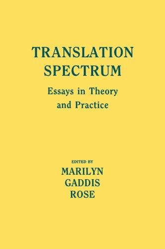 9780873954372: Translation Spectrum