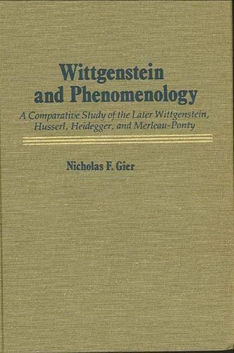 9780873955188: Wittgenstein and Phenomenology