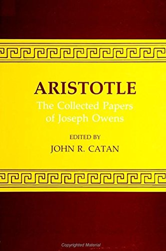9780873955348: Aristotle, the Collected Papers of Joseph Owens