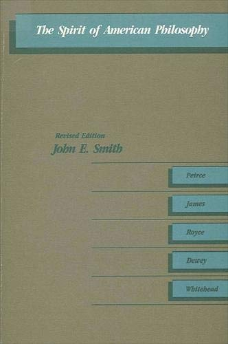 9780873956505: The Spirit of American Philosophy (SUNY Series in Philosophy)