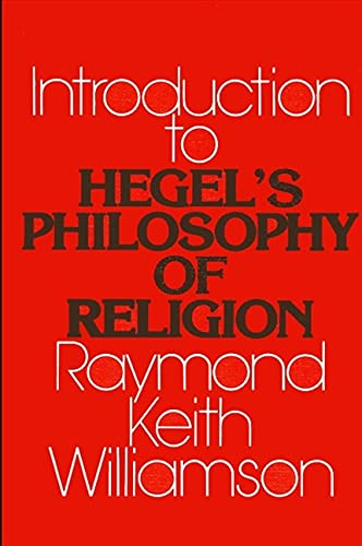 9780873958264: An Introduction to Hegel's Philosophy of Religion (SUNY Series in Hegelian Studies)