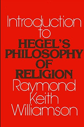 9780873958271: An Introduction to Hegel's Philosophy of Religion (SUNY Series in Hegelian Studies)