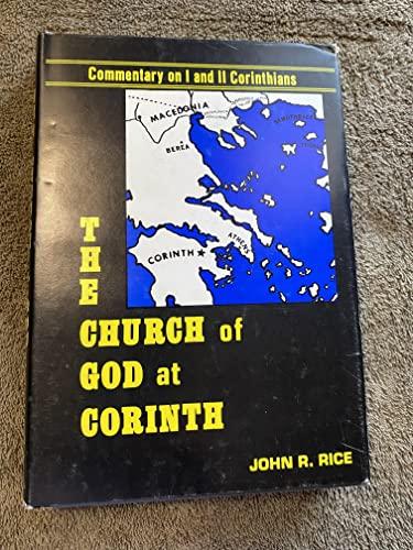 The Church of God at Corinth: Rice, John R.