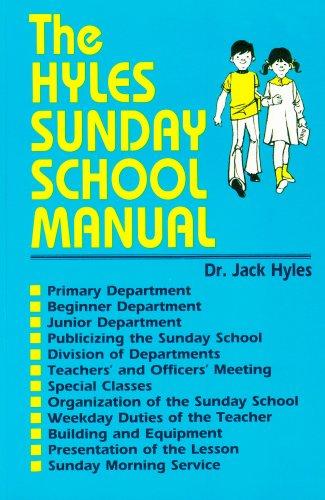 9780873983914: Hyles Sunday School Manual