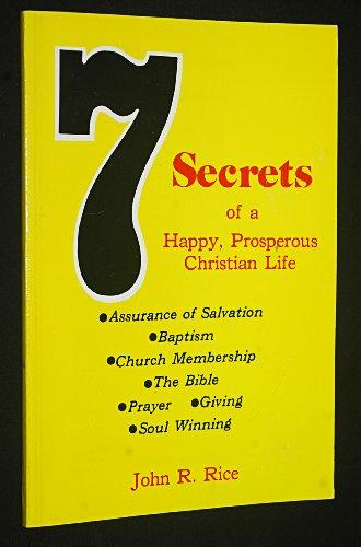 Seven Secrets: Rice, John R.