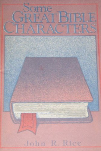9780873987905: Some Great Bible Characters