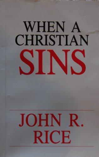9780873989114: When a Christian Sins