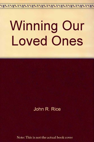 Winning Our Loved Ones (0873989260) by [???]