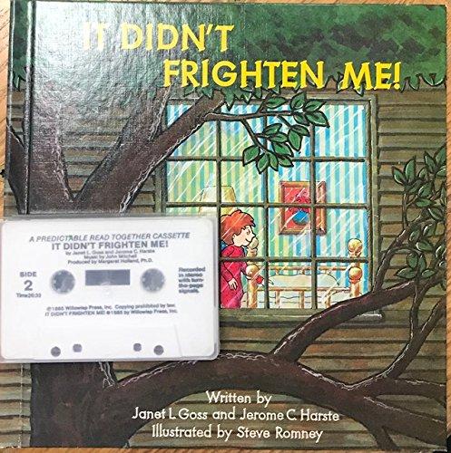 9780874060010: It Didn't Frighten Me!