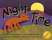Night Time: First graders at Richmond Elementary School in Richmond Vermont