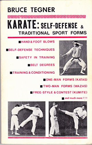9780874070231: Karate: self-defense & traditional sport forms