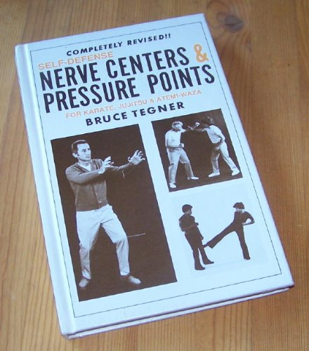 9780874075199: Self-Defense Nerve Centers and Pressure Points for Karate, Jujitsu and Atemi-Waza