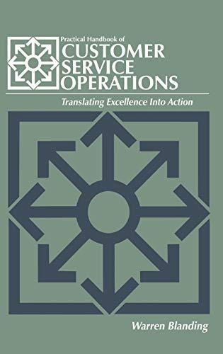 9780874080490: Practical Handbook of CUSTOMER SERVICE OPERATIONS (Transport Press Title)