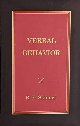 9780874115918: Verbal Behavior