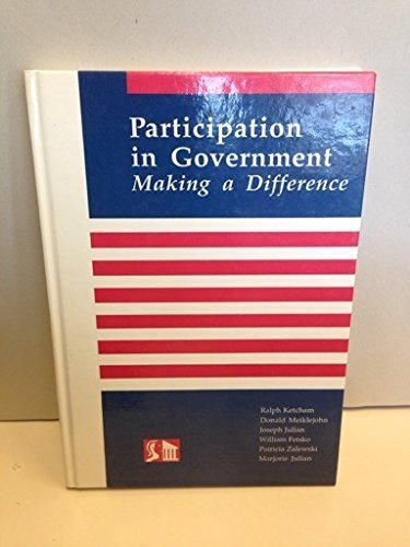 9780874118247: Participation in Government : Making a Difference