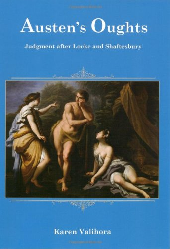 9780874130829: Austen's Oughts: Judgment After Locke and Shaftesbury