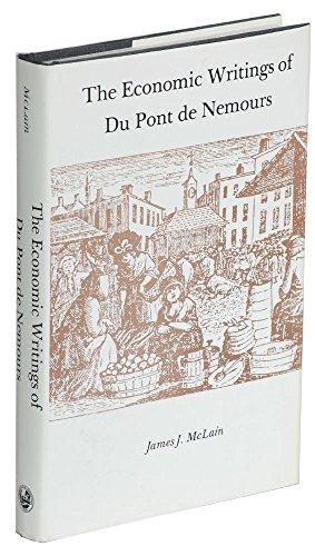 9780874131147: Economic Writings of Du Pont De Nemours