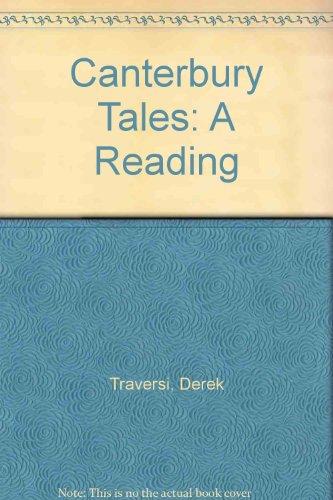The Canterbury Tales: A Reading: Derek Traversi