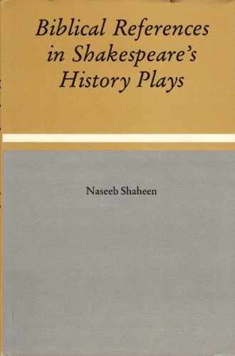 9780874133417: Biblical References in Shakespeare's History Plays