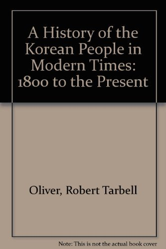 A History of the Korean People