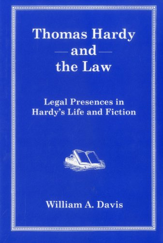 9780874137989: Thomas Hardy And The Law: Legal Presences in Hardy's Life and Fiction