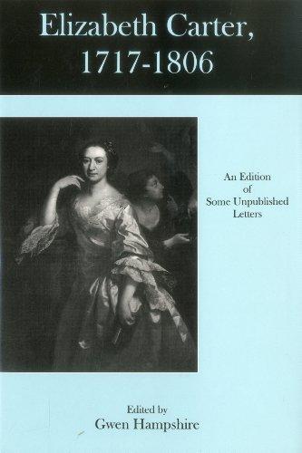 9780874139129: Elizabeth Carter, 1717-1806: An Edition Of Some Unpublished Letters