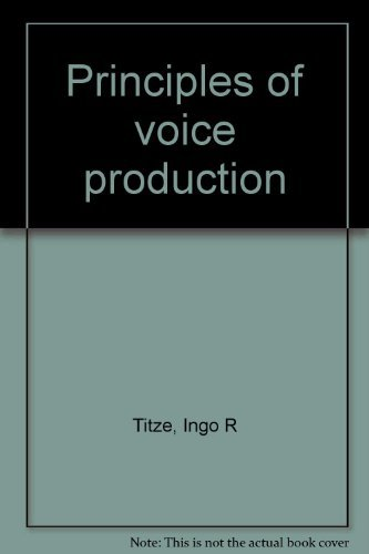 9780874141221: Principles of voice production