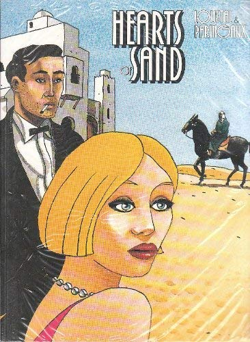 Set of 2 Books by Loustal and Paringaux: Hearts of Sand and New York/Miami (Adults Only)