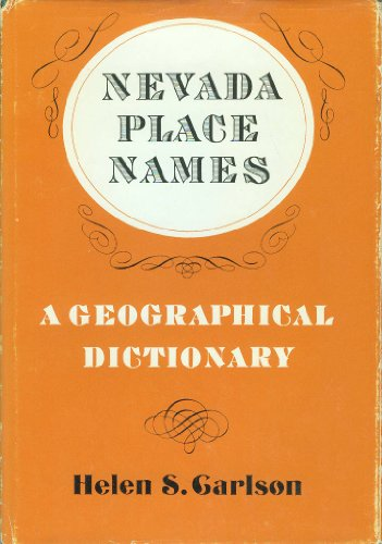9780874170412: Nevada place names;: A geographical dictionary