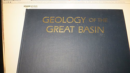 Geology of the Great Basin (Max C. Fleischmann series in Great Basin natural history): Fiero, Bill