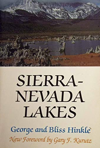 Sierra-Nevada Lakes (Vintage West Series): George Henry Hinkle,
