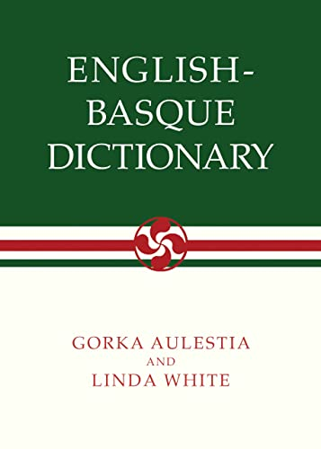 9780874171563: English-Basque Dictionary (The Basque Series)