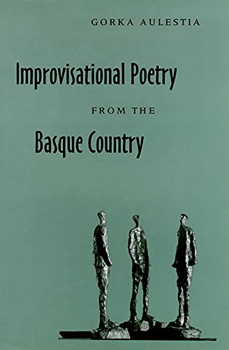 9780874172010: Improvisational Poetry From The Basque Country (The Basque Series)