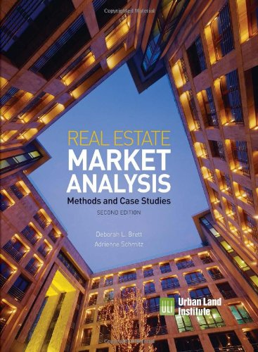 9780874201369: Real Estate Market Analysis: Methods and Case Studies, Second Edition