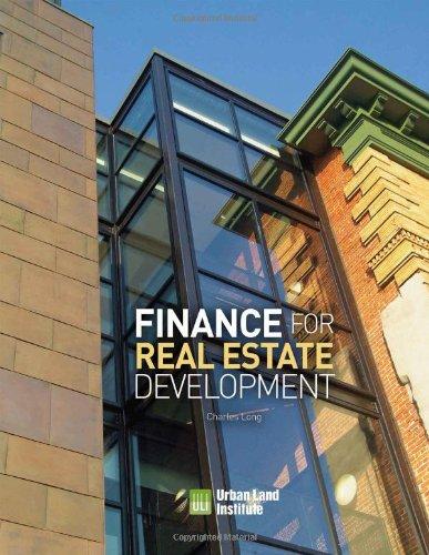 9780874201574: Finance for Real Estate Development