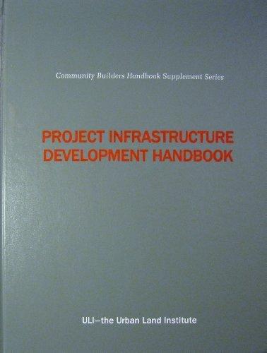 9780874206920: Project Infrastructure Development Handbook (Community Builders Handbook Supplement Series)