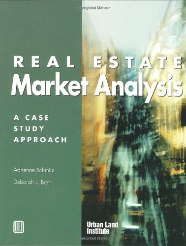 9780874208689: Real Estate Market Analysis: A Case Study Approach
