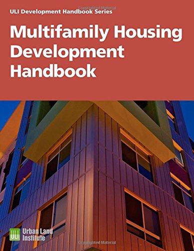 9780874208696: Multifamily Housing Development Handbook (Development Handbook series)
