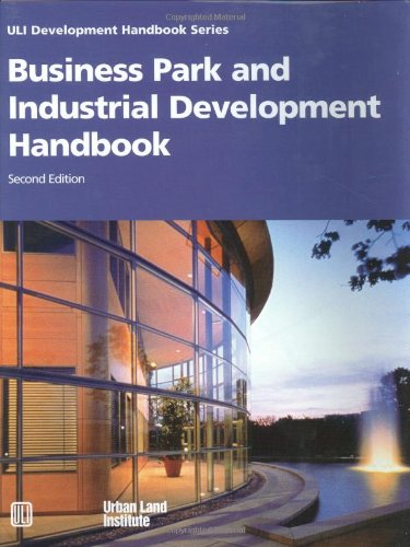 9780874208764: Business Park and Industrial Development Handbook (Uli Development Handbook Series)