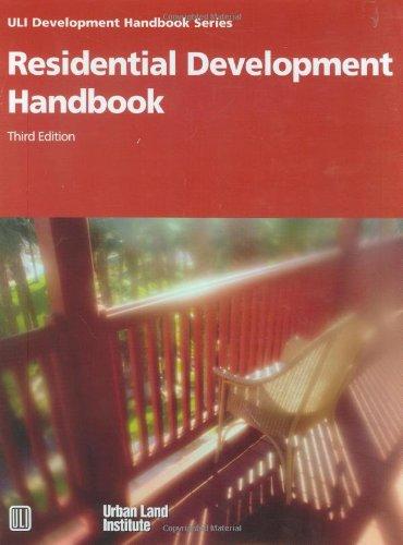 9780874209181: Residential Development Handbook (Development Handbook series)