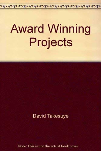 9780874209532: Award Winning Projects