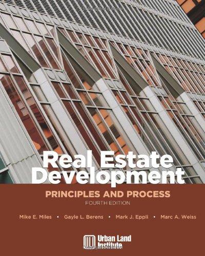 9780874209716: Real Estate Development: Principles and Process