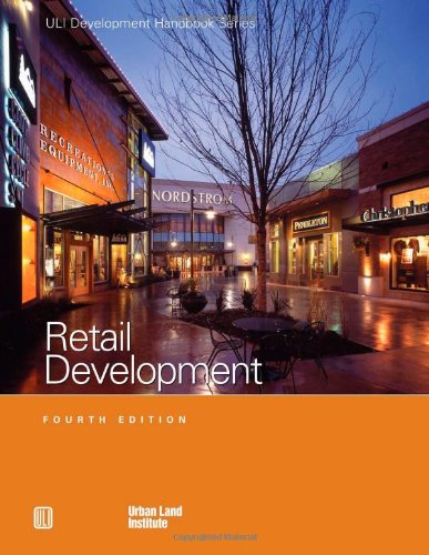 9780874209792: Retail Development (Development Handbook series)