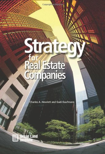 9780874209976: Strategy for Real Estate Companies